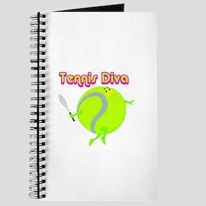 Tennis Ball Diva Journal