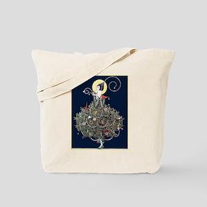 Deco Christmas Tree Tote Bag