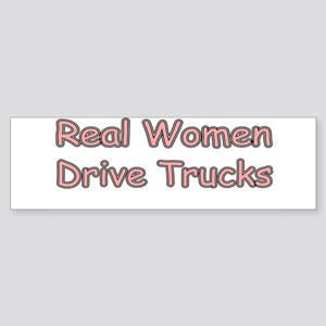 Trucks Bumper Sticker