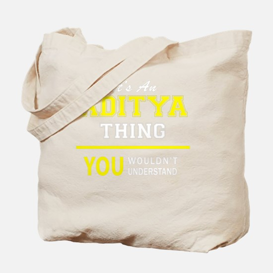 Cute Aditya Tote Bag