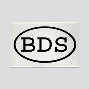 BDS Oval Rectangle Magnet