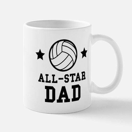 All Star Volleyball Dad Mugs