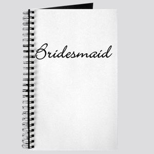 Bridesmaid - fancy Journal