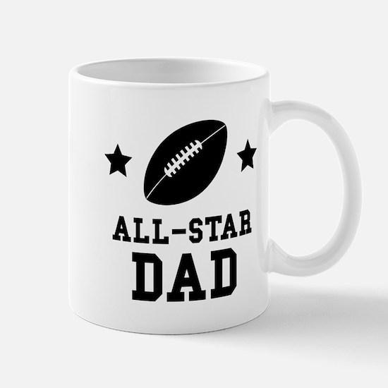 All Star Football Dad Mugs