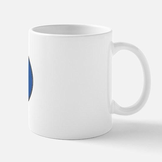 Newfoundland (oval-blue) Mug