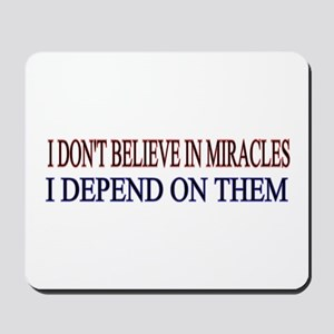 miracles Mousepad