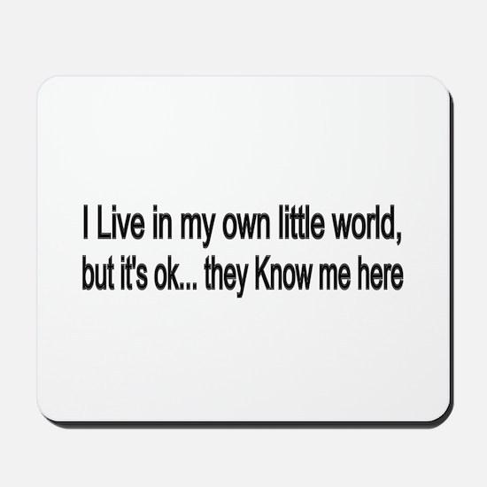 little world Mousepad
