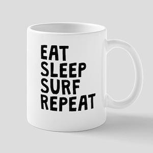 Eat Sleep Surf Repeat Mugs