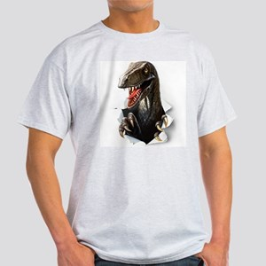 Velociraptor Dinosaur Light T-Shirt