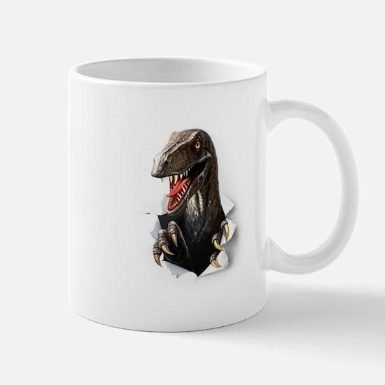 Velociraptor Dinosaur Mug