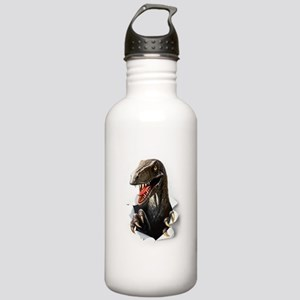 Velociraptor Dinosaur Stainless Water Bottle 1.0L