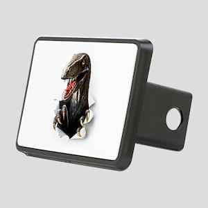 Velociraptor Dinosaur Rectangular Hitch Cover