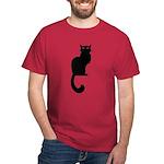 Fat Cat & Cat Lover Dark T-Shirt
