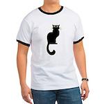 Fat Cat & Cat Lover Ringer T