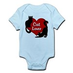 Fat Cat & Cat Lover Baby Light Bodysuit