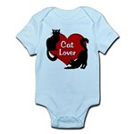 Fat Cat & Cat Lover Baby Light Bodysuit