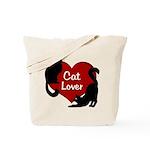 Fat Cat & Cat Lover Tote Bag