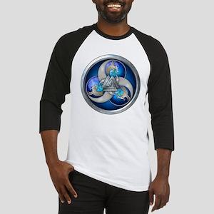 Blue Norse Triple Dragons Baseball Jersey