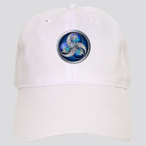 Blue Norse Triple Dragons Cap