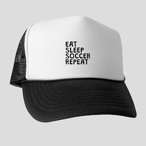 Eat Sleep Soccer Repeat Trucker Hat