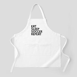 Eat Sleep Soccer Repeat Apron