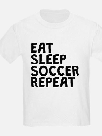 Eat Sleep Soccer Repeat T-Shirt