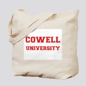COWELL UNIVERSITY Tote Bag