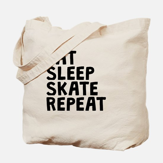 Eat Sleep Skate Repeat Tote Bag