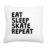Skate Square Canvas Pillows