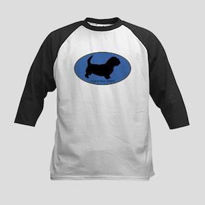 Glen Of Imaal Terrier (oval-b Kids Baseball Jersey