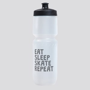 Eat Sleep Skate Repeat Sports Bottle