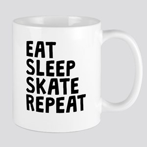 Eat Sleep Skate Repeat Mugs