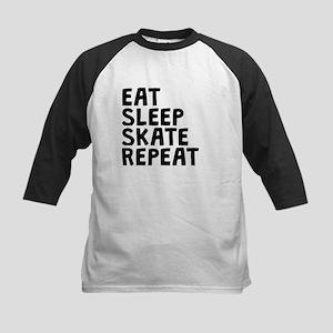 Eat Sleep Skate Repeat Baseball Jersey
