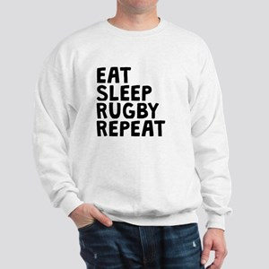 Eat Sleep Rugby Repeat Sweatshirt