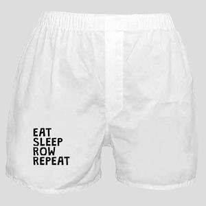 Eat Sleep Row Repeat Boxer Shorts