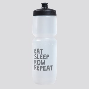 Eat Sleep Row Repeat Sports Bottle