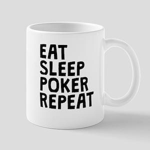 Eat Sleep Poker Repeat Mugs