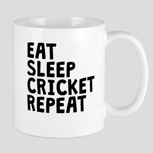 Eat Sleep Cricket Repeat Mugs
