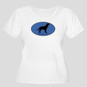 American Water Spaniel (oval- Women's Plus Size Sc