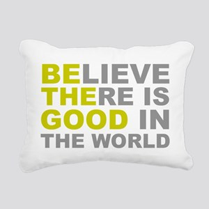 Be the Good Rectangular Canvas Pillow