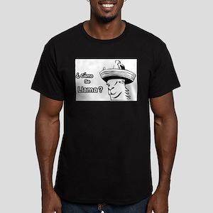 Premium Rex Hunt Monoc Men's Fitted T-Shirt (dark)