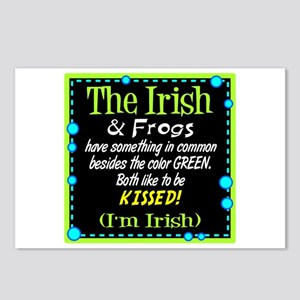 Irish and Frogs Postcards (Package of 8)