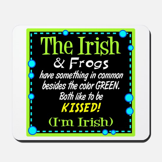 Irish and Frogs Mousepad