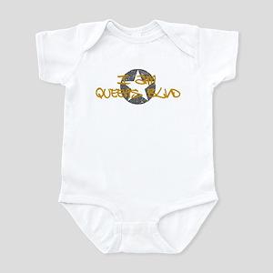 I am Queens Blvd - Gold Infant Bodysuit