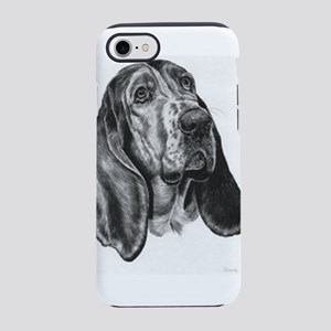 Basset hound iPhone 7 Tough Case