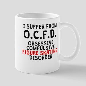 Obsessive Compulsive Figure Skating Disorder Mugs