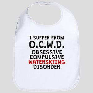 Obsessive Compulsive Waterskiing Disorder Bib