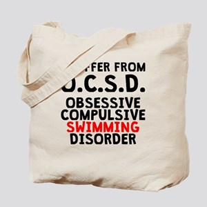 Obsessive Compulsive Swimming Disorder Tote Bag