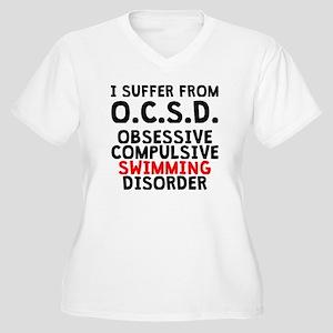 Obsessive Compulsive Swimming Disorder Plus Size T