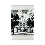 Visit Philadelphia on the PRR Rectangle Magnet (10
